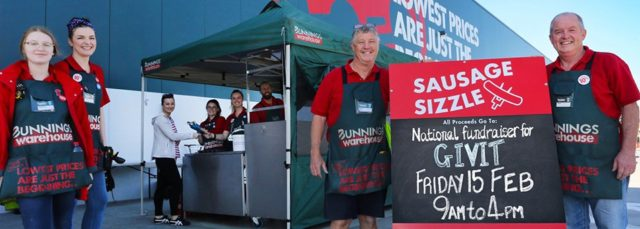 Sausage Sizzle for Townsville Floods