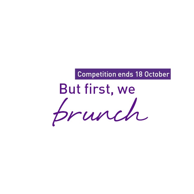 But first, we brunch giveaway